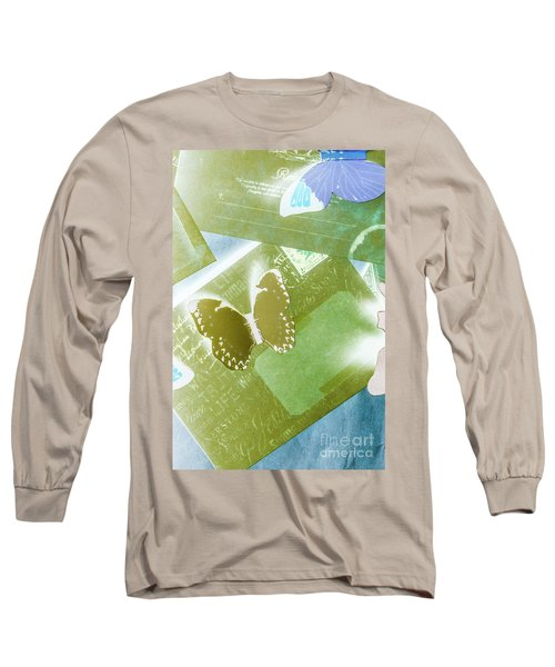 Paperwing Post Long Sleeve T-Shirt