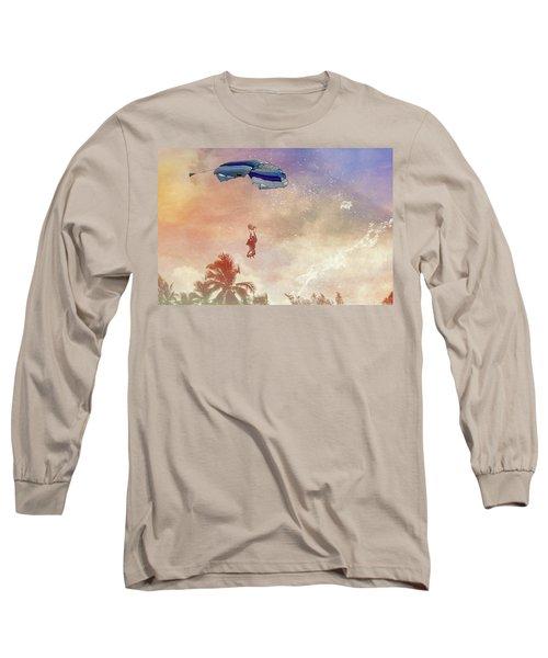 Parachuting Into Chaos Long Sleeve T-Shirt