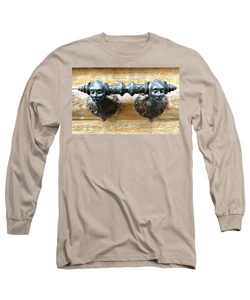 Paris Door Handle Long Sleeve T-Shirt