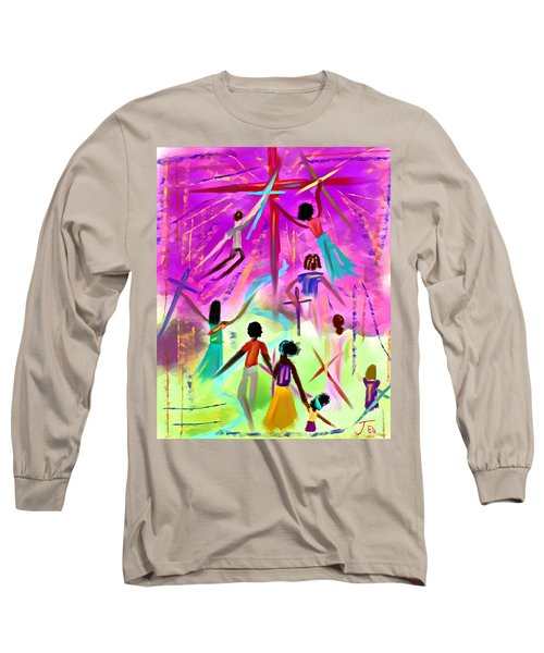 People Of The Cross Long Sleeve T-Shirt