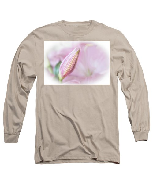 Pink Lily Long Sleeve T-Shirt