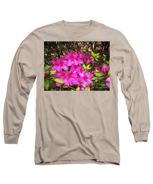 Pink Outside Long Sleeve T-Shirt