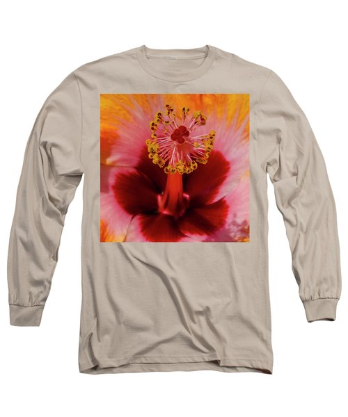 Pistol Packin' Flower Long Sleeve T-Shirt