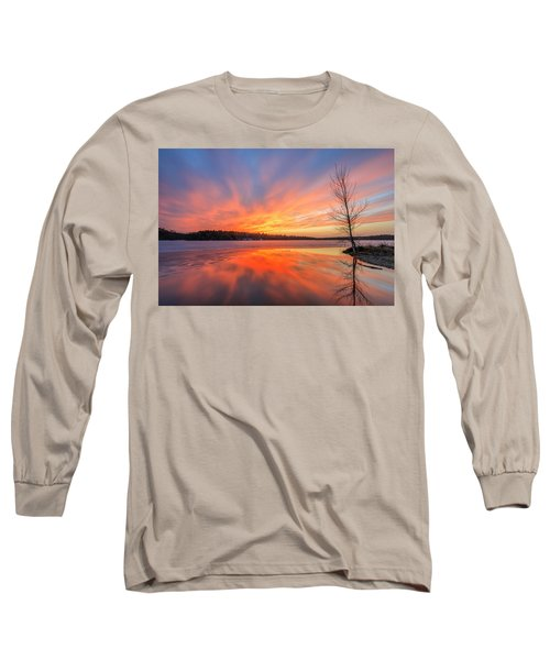 Pond Ablaze Long Sleeve T-Shirt