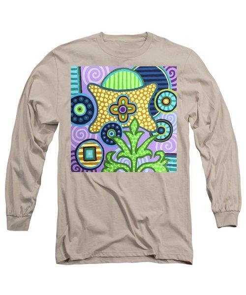 Pop Botanical 2 Long Sleeve T-Shirt