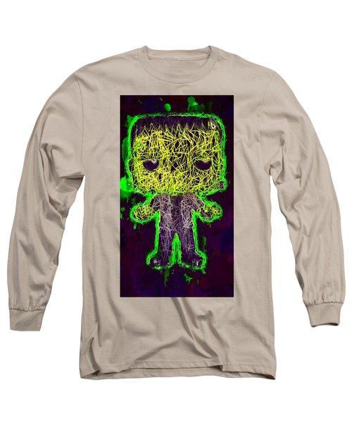 Frankenstein Pop 2 Long Sleeve T-Shirt