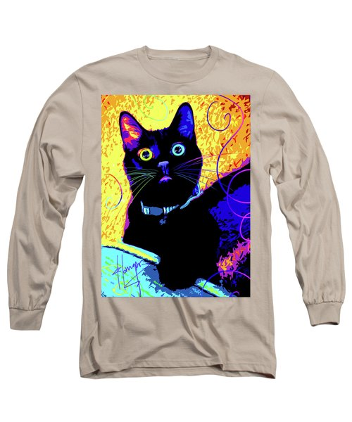 pOpCat Olive Long Sleeve T-Shirt