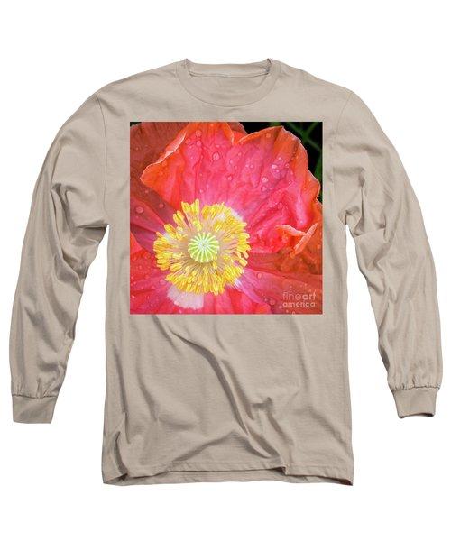 Poppy Closeup Long Sleeve T-Shirt