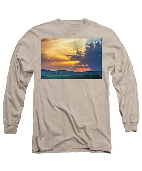 Powerful Sunbeams Long Sleeve T-Shirt