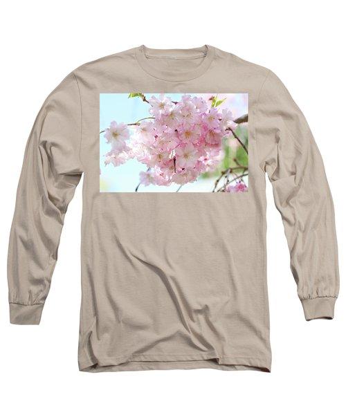 Pretty Pink Blossoms Long Sleeve T-Shirt