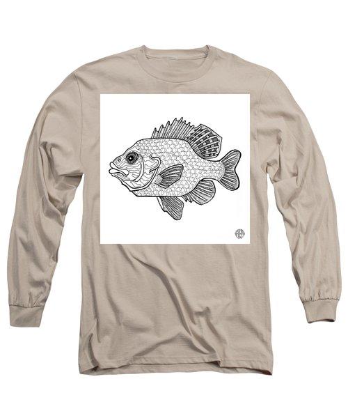 Pumpkinseed Fish Long Sleeve T-Shirt