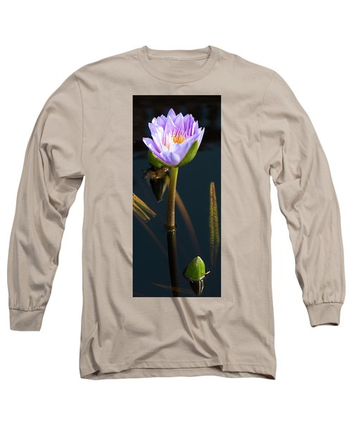 Purple Elegance Long Sleeve T-Shirt