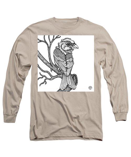 Purple Finch Long Sleeve T-Shirt