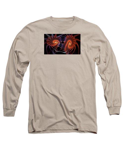 Rainbow Velcro Long Sleeve T-Shirt