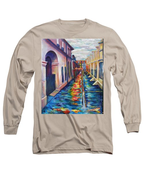 Rainy Pirate Alley Long Sleeve T-Shirt