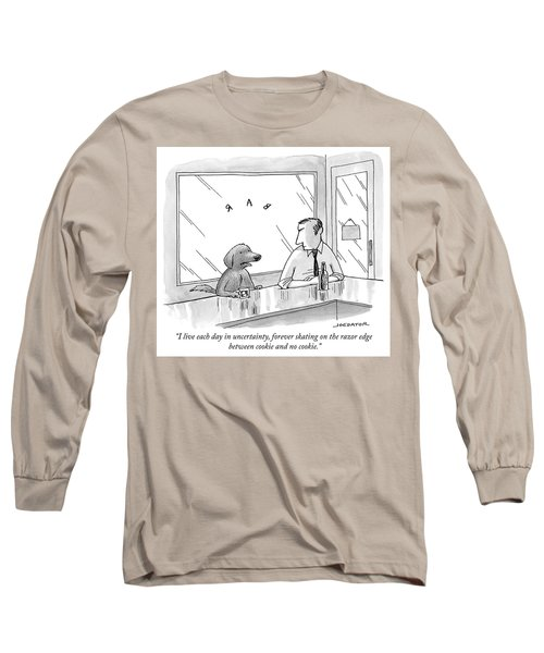 Cookie And No Cookie Long Sleeve T-Shirt