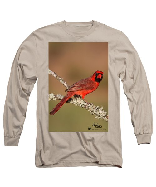 Red And Radiant Long Sleeve T-Shirt