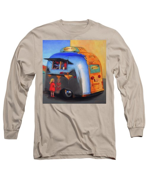 Reflections On An Airstream Long Sleeve T-Shirt