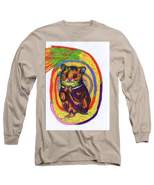 Religious Hamster Long Sleeve T-Shirt