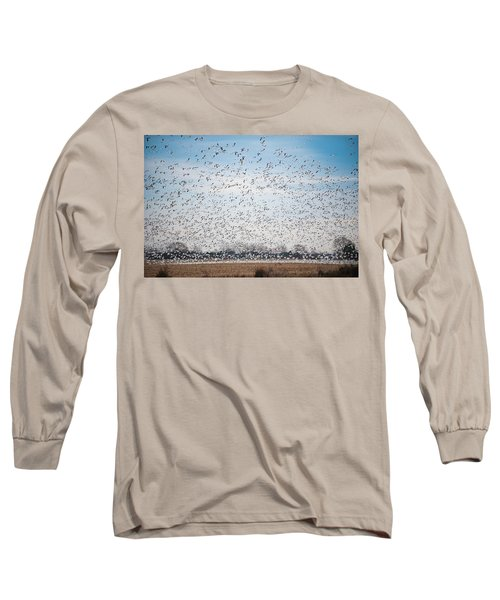 Resting On The Flyway Long Sleeve T-Shirt