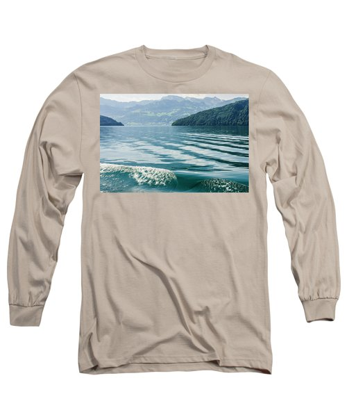 Ripples On Lake Lucerne Long Sleeve T-Shirt