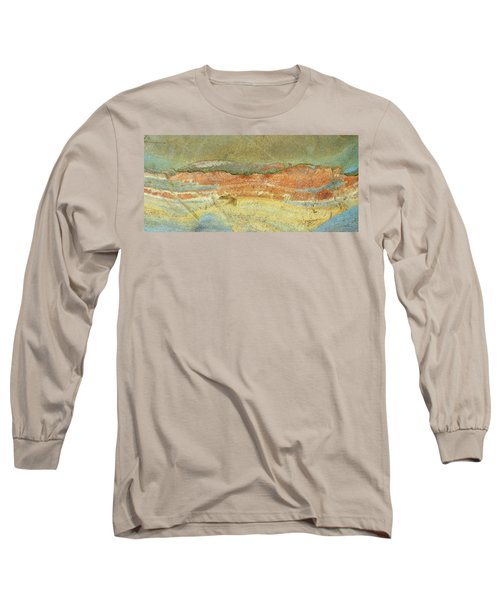 Rock Stain Abstract 2 Long Sleeve T-Shirt