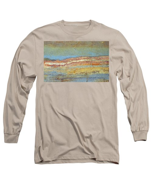 Rock Stain Abstract 3 Long Sleeve T-Shirt