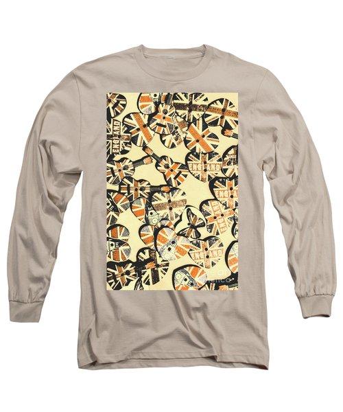 Rocking Old England Long Sleeve T-Shirt