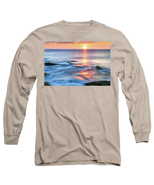 Rockport Pastel Sunset Ma. Long Sleeve T-Shirt