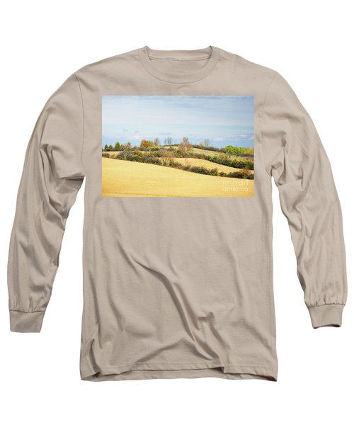 Rolling Hills In Fall Long Sleeve T-Shirt