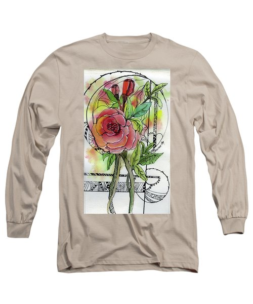 Rose Is Rose Long Sleeve T-Shirt