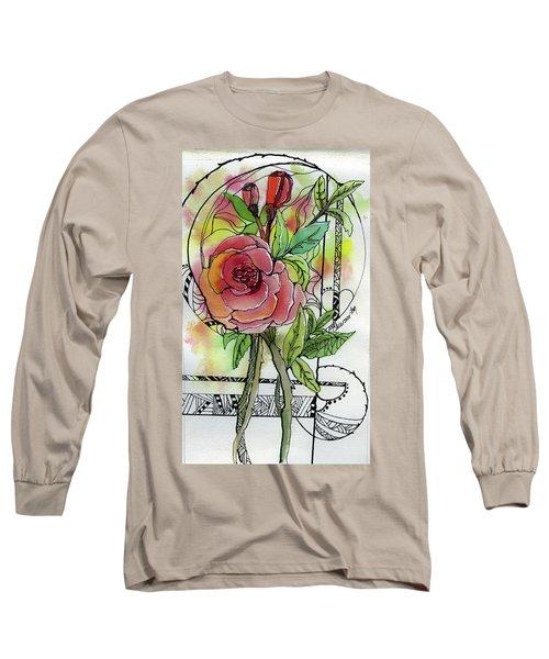 Rose Is Rose Long Sleeve T-Shirt