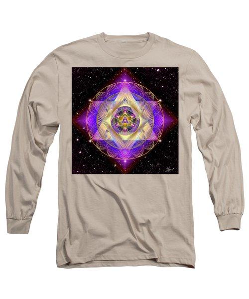 Sacred Geometry 741 Long Sleeve T-Shirt