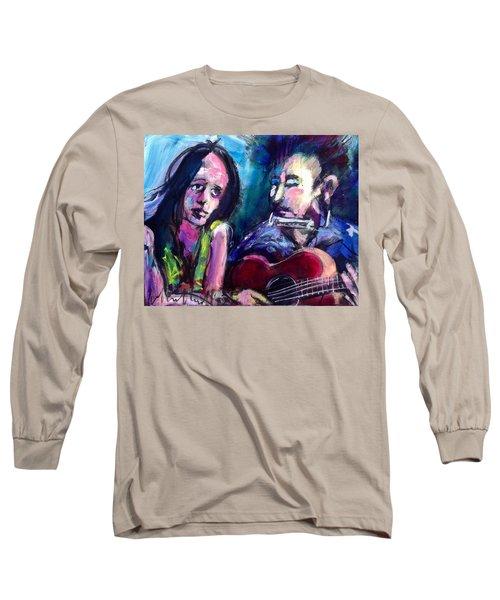 Sad Eyed Lady Long Sleeve T-Shirt