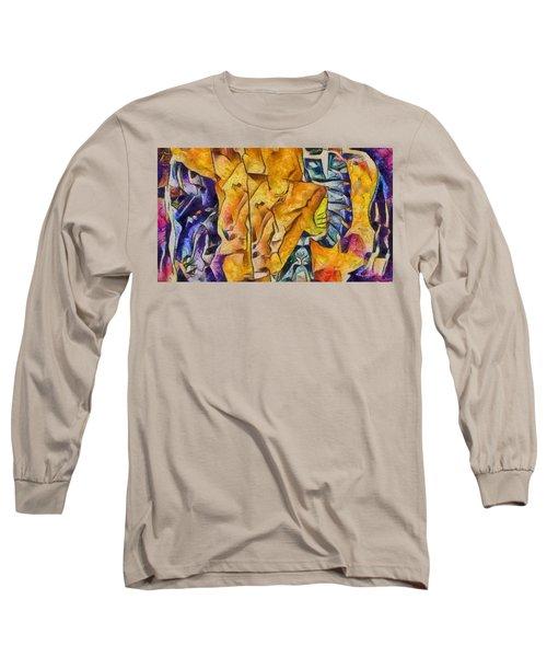 Sally Sells Seashells Long Sleeve T-Shirt