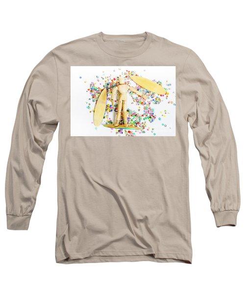 Sandalwood Seas Long Sleeve T-Shirt