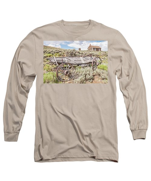 Schoolhouse On A Hill Long Sleeve T-Shirt