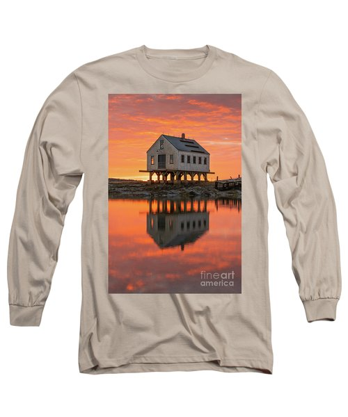 Scorched Symmetry Long Sleeve T-Shirt