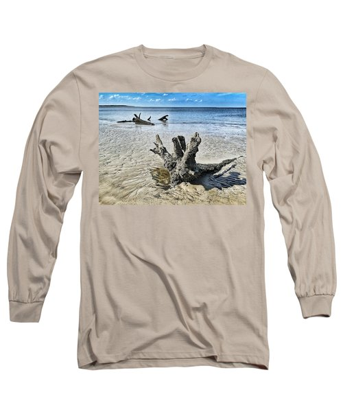 Sculpted By The Sea Long Sleeve T-Shirt
