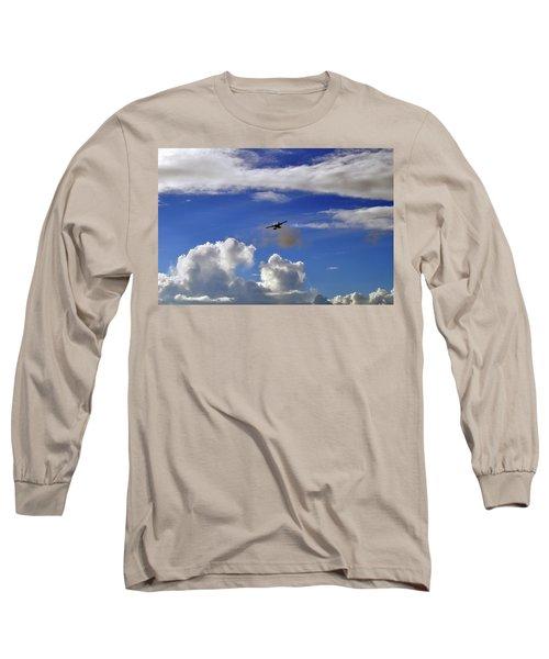 Seaplane Skyline Long Sleeve T-Shirt