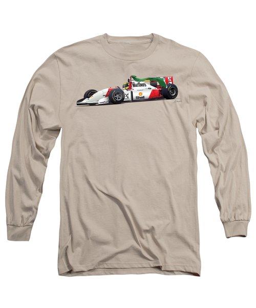 Senna No Background Long Sleeve T-Shirt