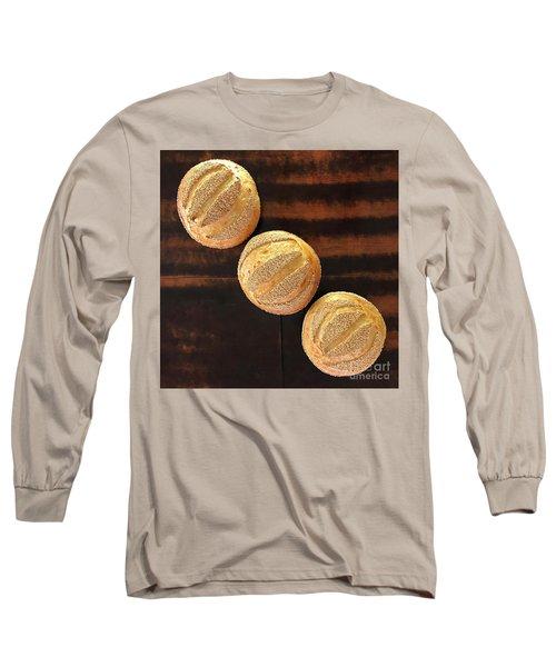 Sesame Seed Stripes 1 Long Sleeve T-Shirt