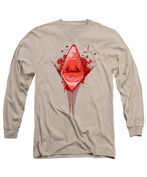 Shark Week Long Sleeve T-Shirt