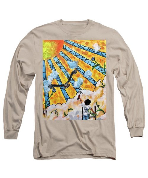 Shattered Skies Long Sleeve T-Shirt