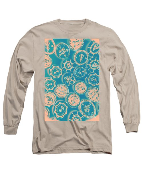 Ship Shape Nautical Designs Long Sleeve T-Shirt