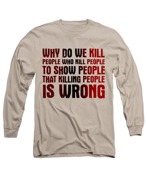 Showing People Long Sleeve T-Shirt