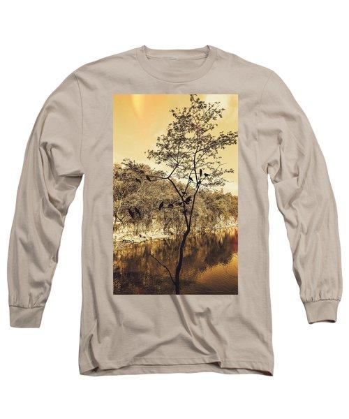 Silhoutte Long Sleeve T-Shirt