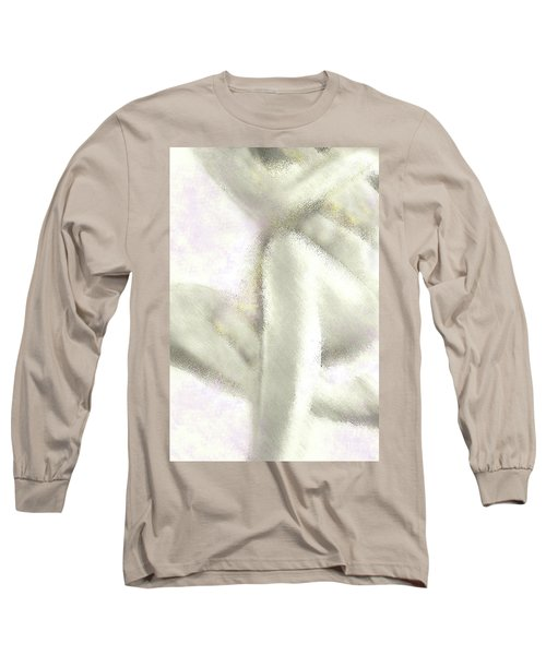 Sitting Nude Long Sleeve T-Shirt