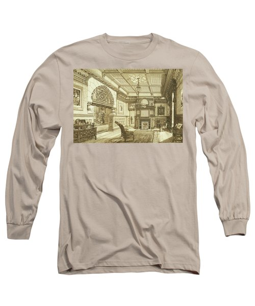 Sitting Room Of Bardwold, Merion Pa Long Sleeve T-Shirt