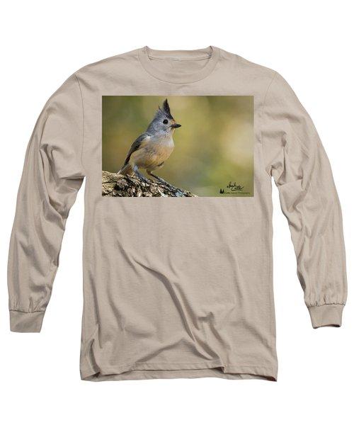 Small Titmouse Long Sleeve T-Shirt